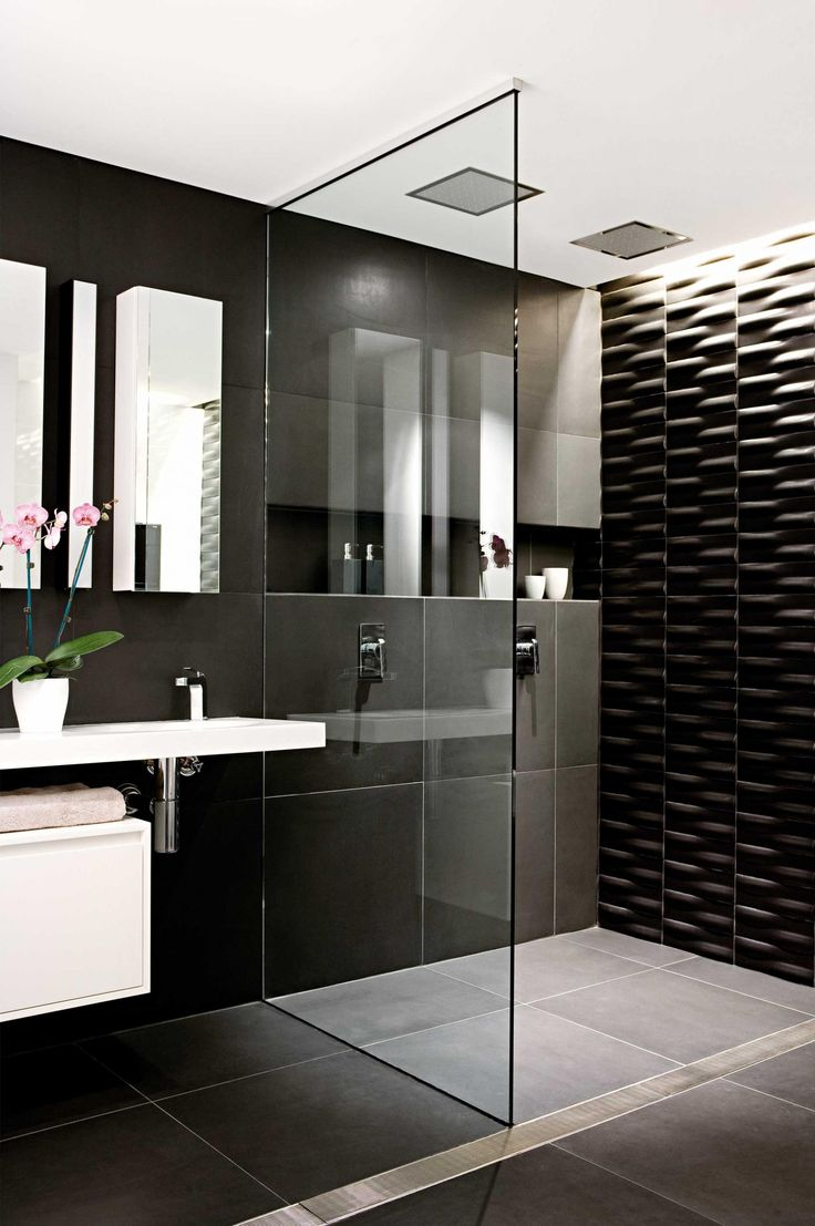 Innovative Black And White Bathroom Ideas On Interior Decor Ideas