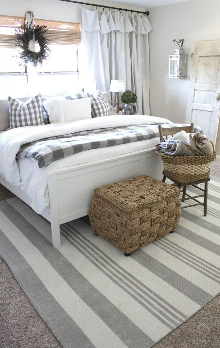 Inspiring Rustic Farmhouse Bedroom Design 30 Decor Ideas