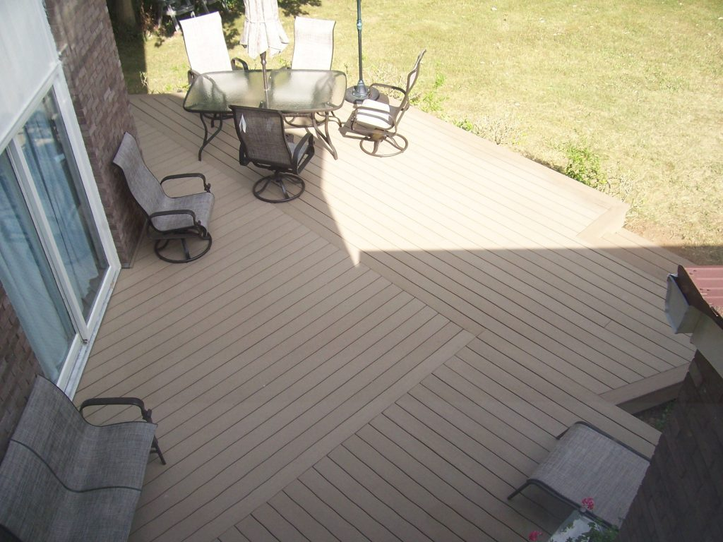 Interesting Composite Deck Board Pattern Composite Decks Deck
