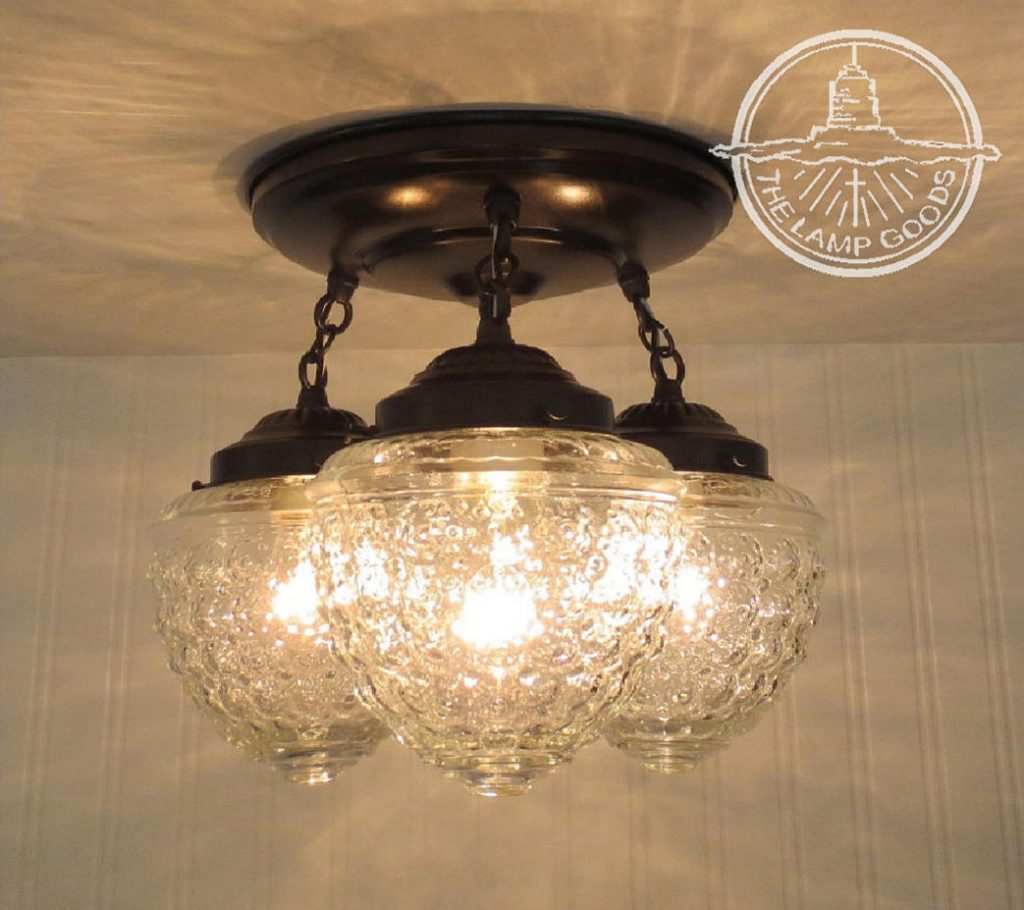 Island Falls Ceiling Lighting Fixture Trio Chandelier Light Etsy