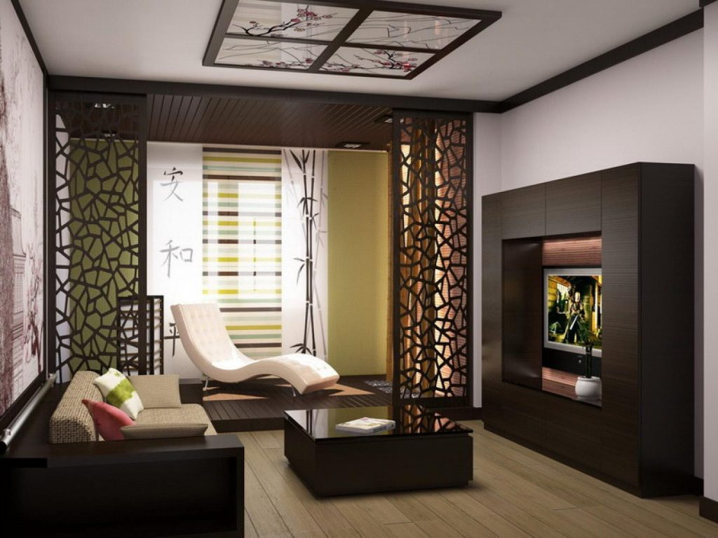 Japanese Living Room Designs La Apartment Dcor Room Partition