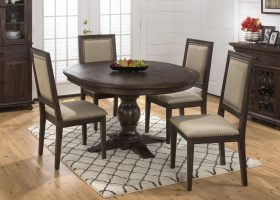 Round Dining Room Table and Chair Sets