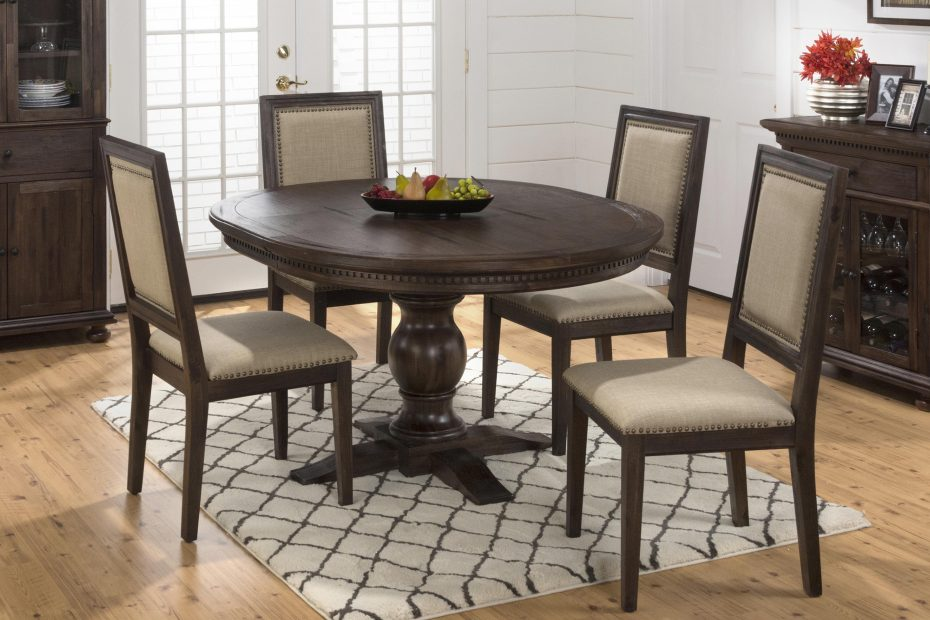 Jofran Evelyn Table And Side Chair Set Rotmans Dining 5 Piece Sets
