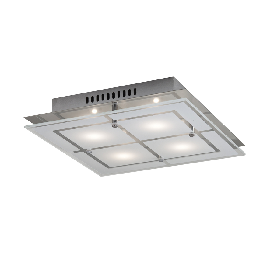 Kichler 1175 In Chrome Moderncontemporary Led Flush Mount Light At