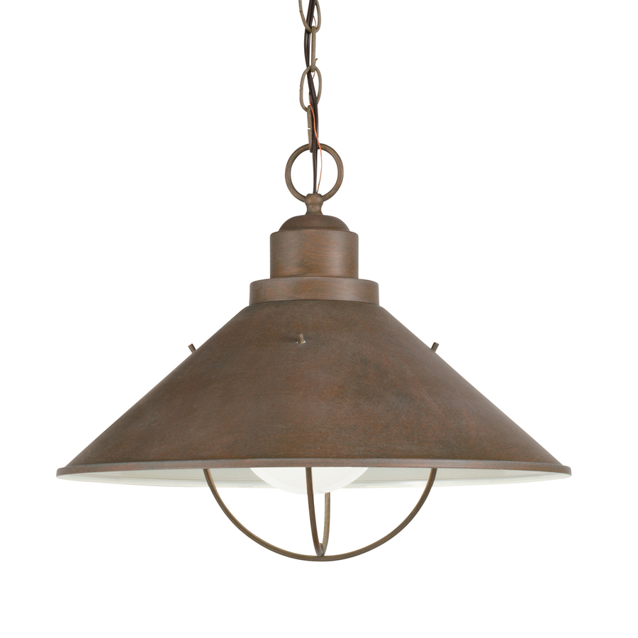 Kichler Seaside Olde Brick Traditional Cone Pendant At Lowes