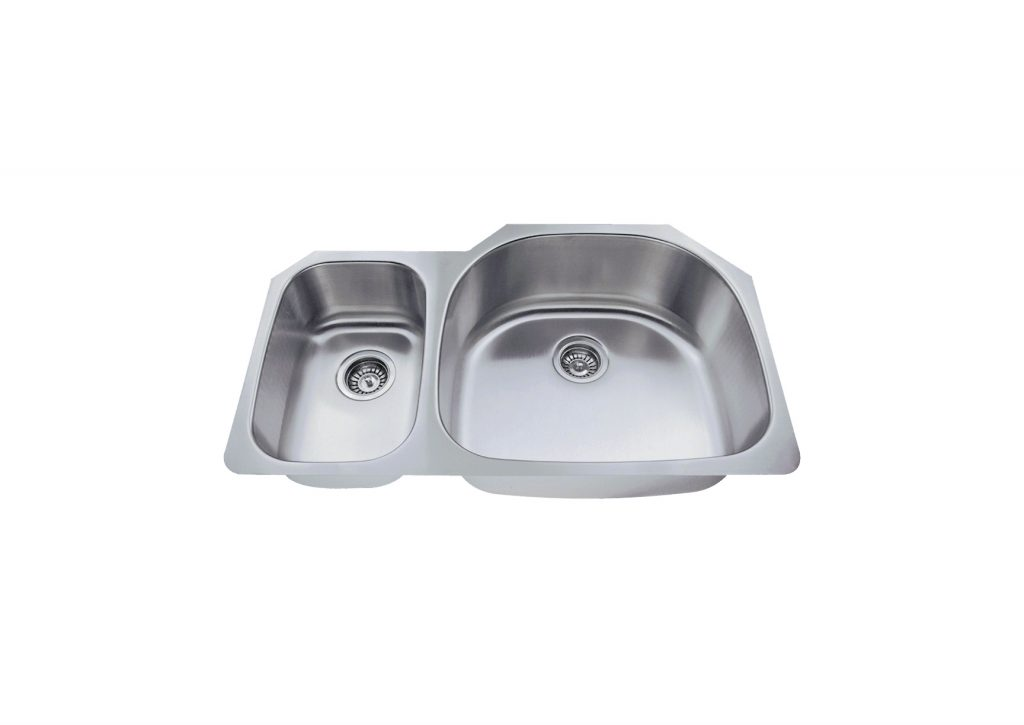 Ksn 3321 R Undermount Double Bowl Kitchen Sink
