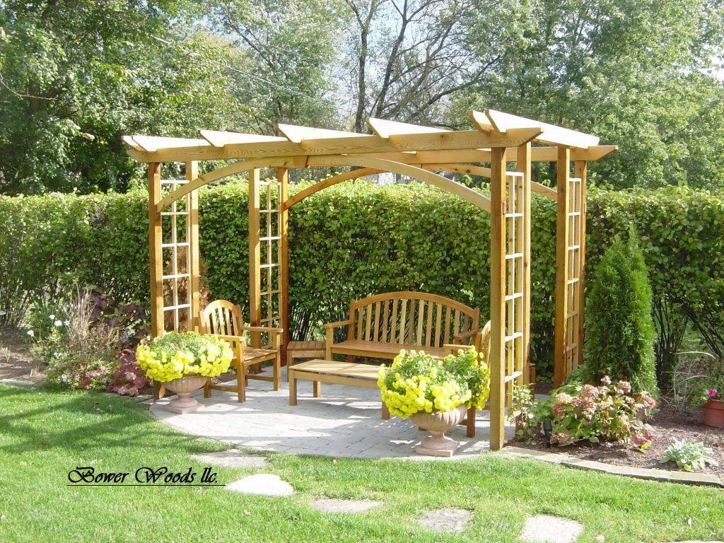 Lawn Garden Outdoor Gazebo Designs Backyard Patio Landscaping Ideas