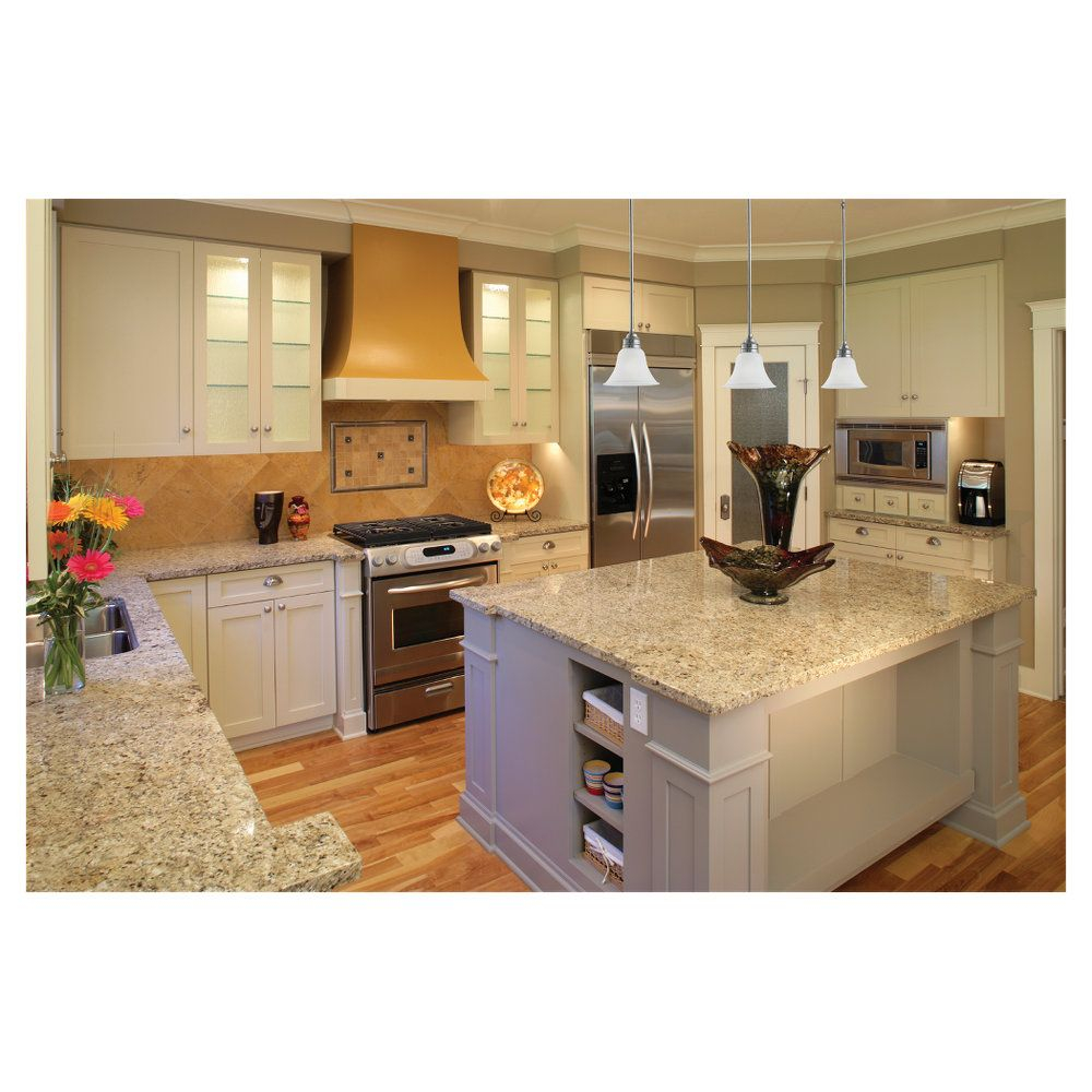 Light Colored Kitchen White Cabinets Light Gray Granite Counter
