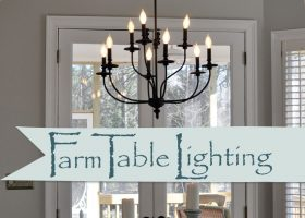 Farmhouse Dining Room Light