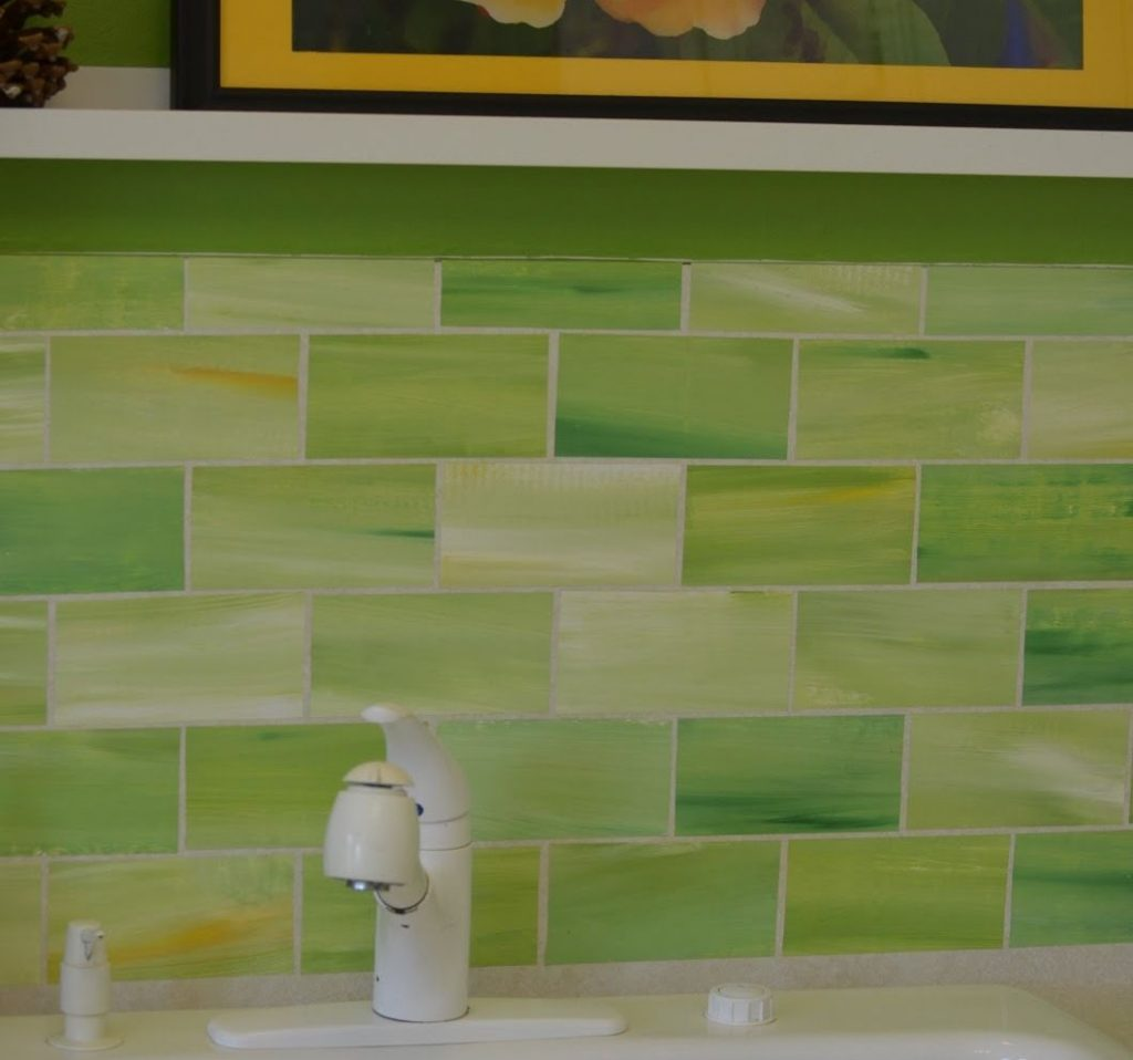 Lime Green Glass Tile Backsplash For The Love Of Lime Glass