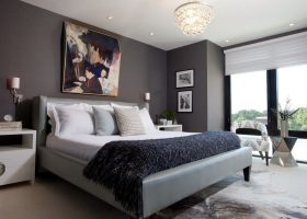 Color Idea Scheme Modern Bedroom