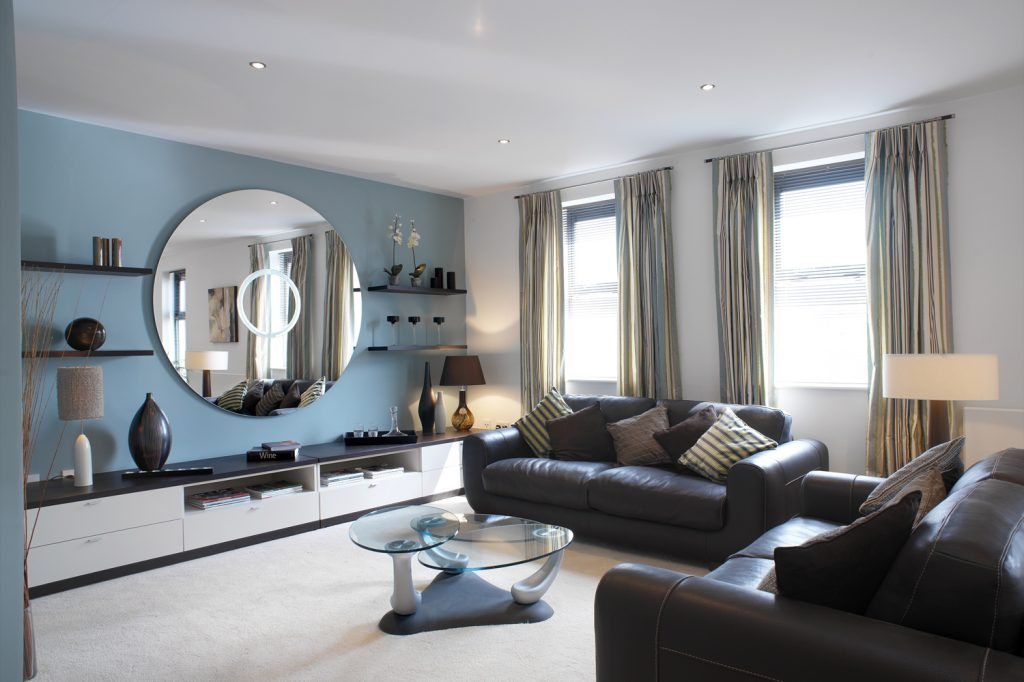 Living Room Awesome Blue Living Room Decorating Ideas Blue Leather