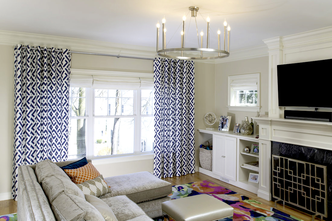 Living Room Curtain Ideas The Shade Store Blog