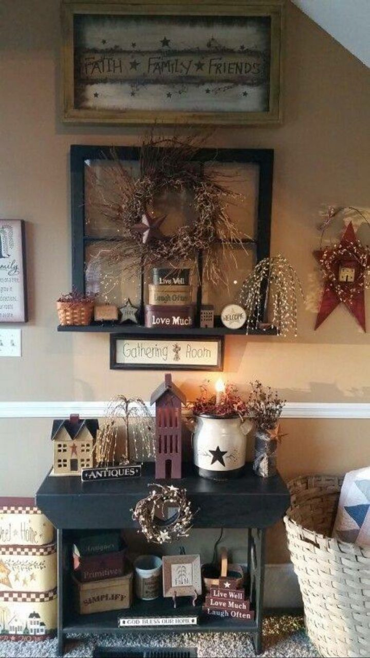 Love This Look 3 Primitivecountrydecorating Primitive Country