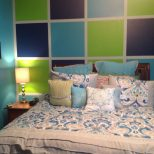 Love This New Teenage Girls Room In Aqua Lime Green And Navy