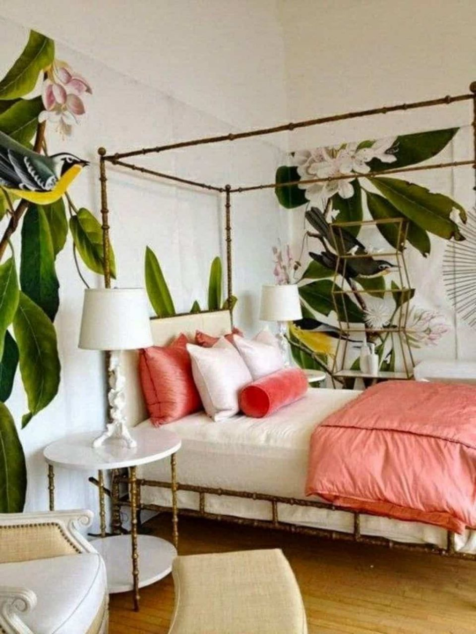 Making A Paradise With Tropical Bedroom Theme In 2019 Apt Ca