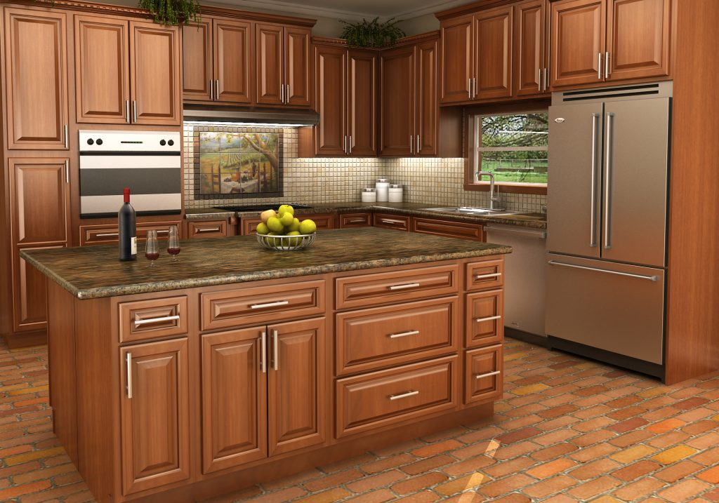 Maple Stained Cabinets Making The Right Choice In Stock Kitchens