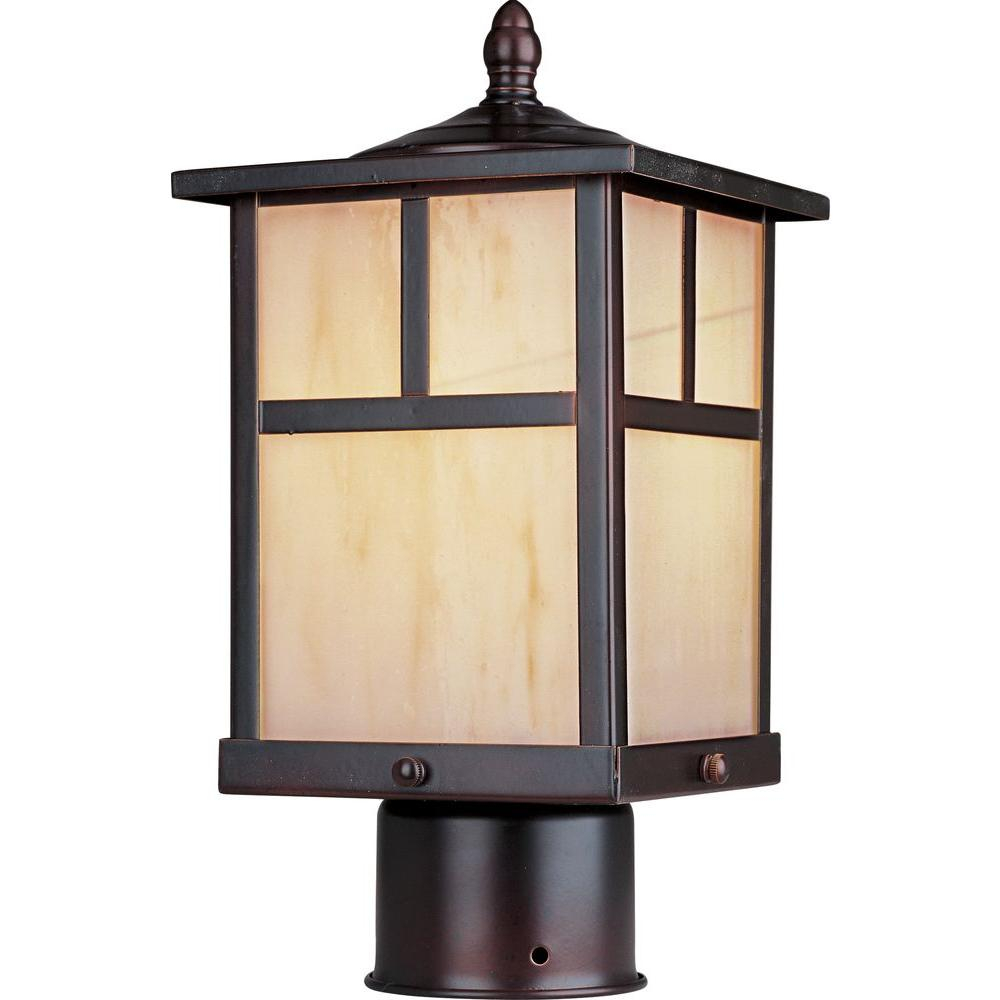 Maxim Lighting Coldwater 1 Light Burnished Outdoor Polepost Mount