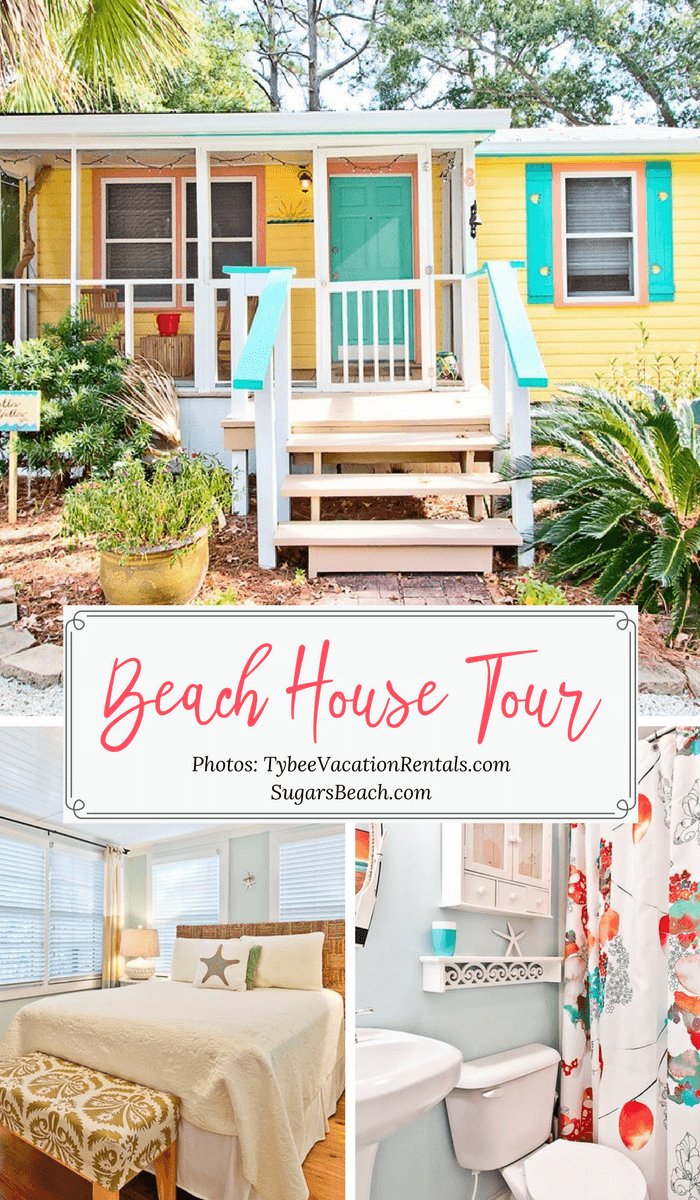 Mellow Yellow Beach House Tour Beach House Tours Beach House