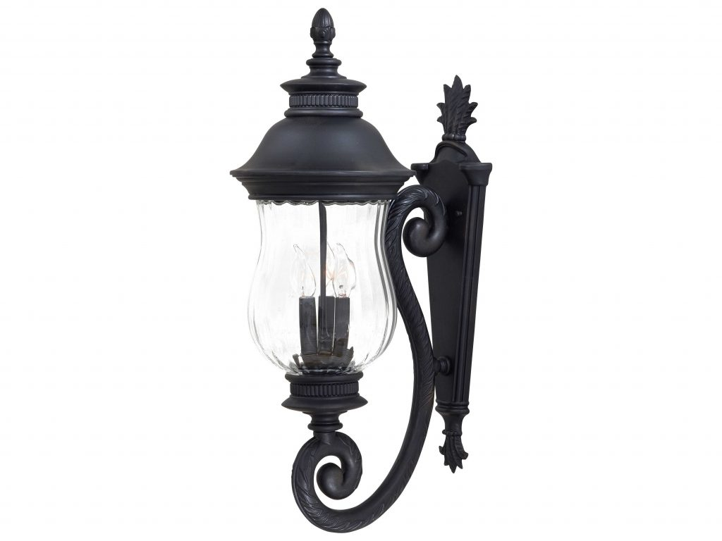 Minka Lavery Newport Heritage Glass Outdoor Wall Light Mgo890194