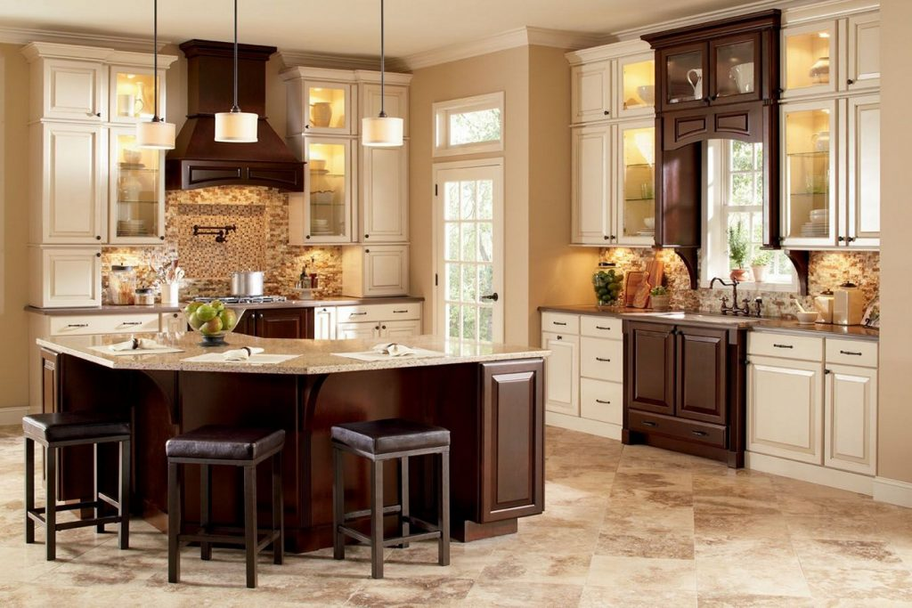 Mismatch Your Kitchen Cabinets Home Garden Design Ideas Articles