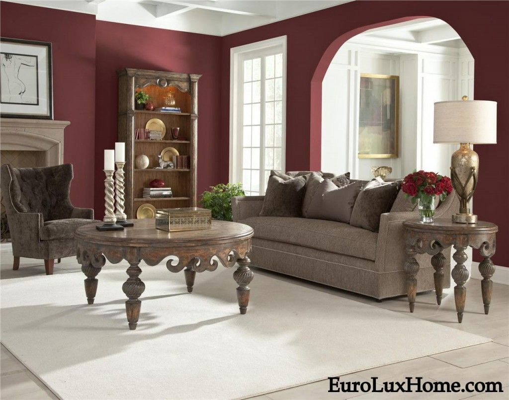 Mixing Burgundy Or Red Wine Decor With Gray For A Sophisticated Look
