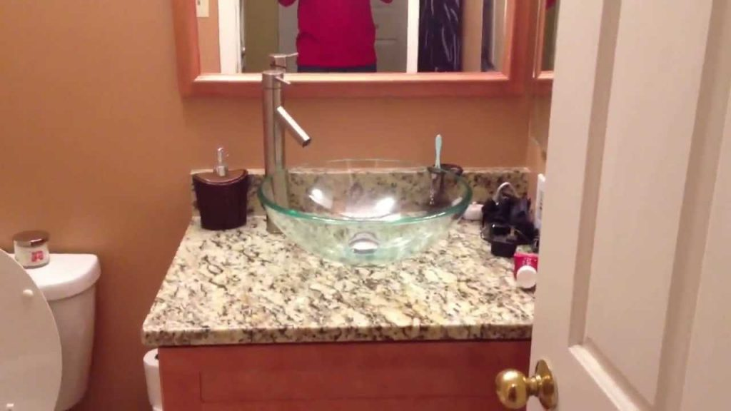 Modern Bathroom Upgrade With Bowl Sink And Jet Hot Tub Remodel Youtube