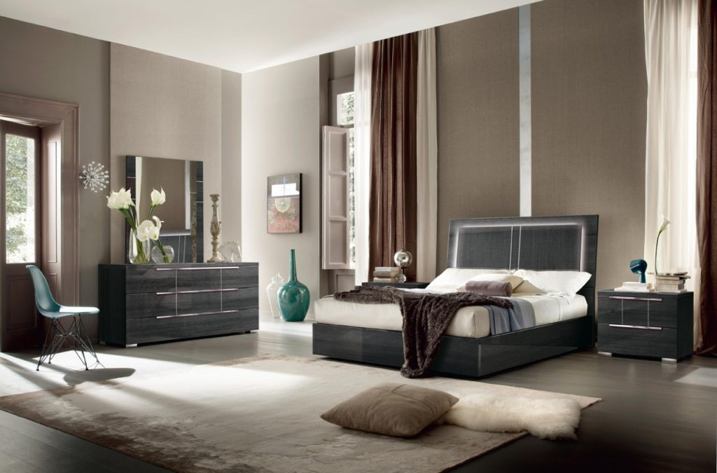 Modern Italian Contemporary Bedroom Set Alf Italia Los Angeles
