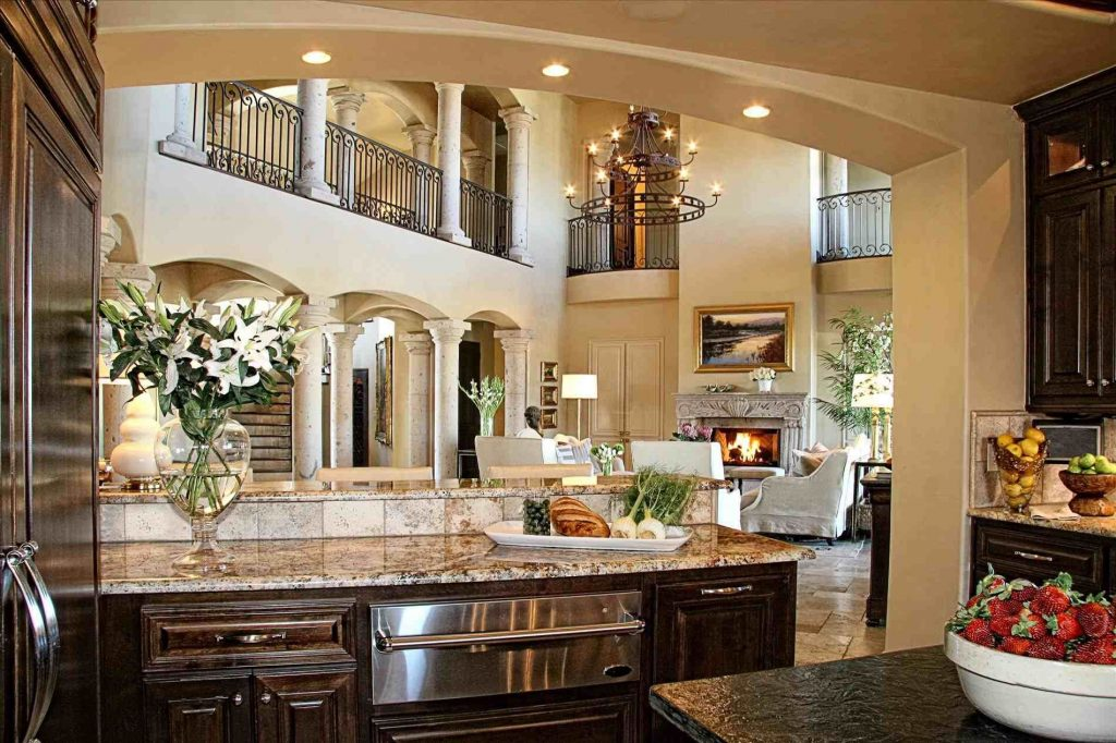 Modern Tuscan Kitchen Design Dream Home Luxury Kitchen Design