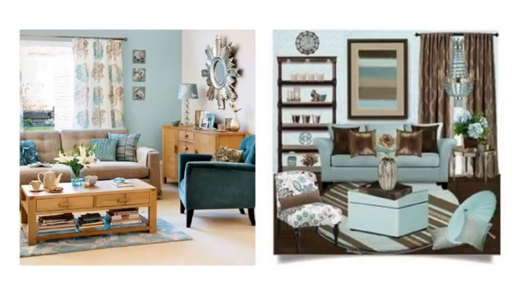 Modest Duck Egg Blue And Brown Living Room Ideas To Light Your Room