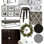 Mood Board A Black White Guest Cottage Our Newest Small Space