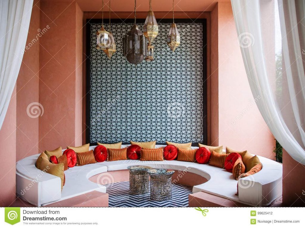 Moroccan Style Living Room Moroccan Decoration Editorial