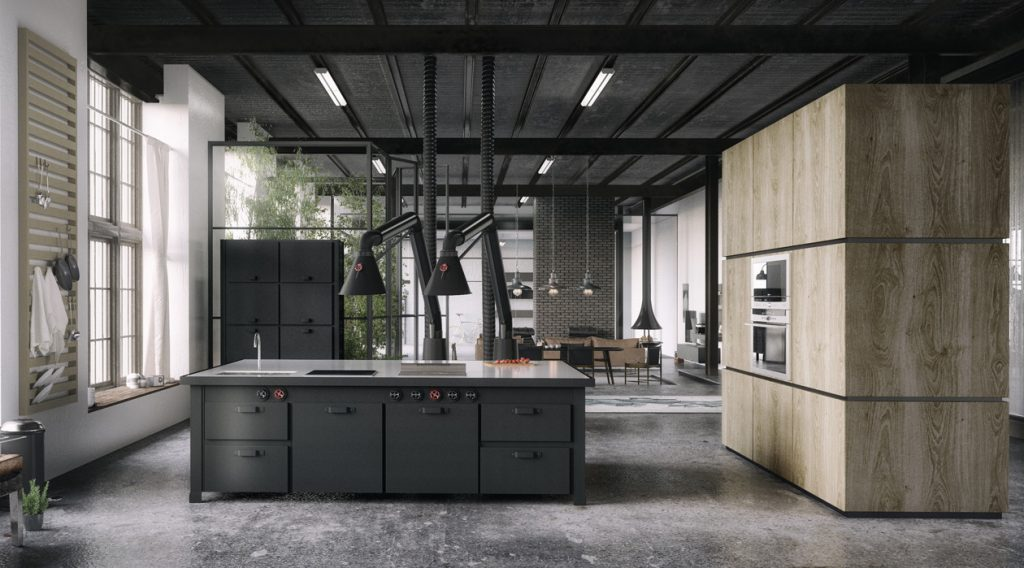 Most Stunning Industrial Kitchen Designs Interior Vogue