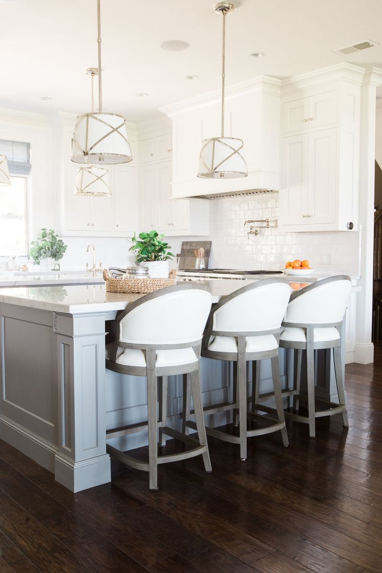 Mountainside Remodel Dream Kitchen Kitchen Island Chairs With