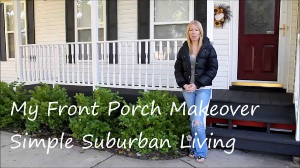My Front Porch Makeover For Under 100with Curtains Youtube
