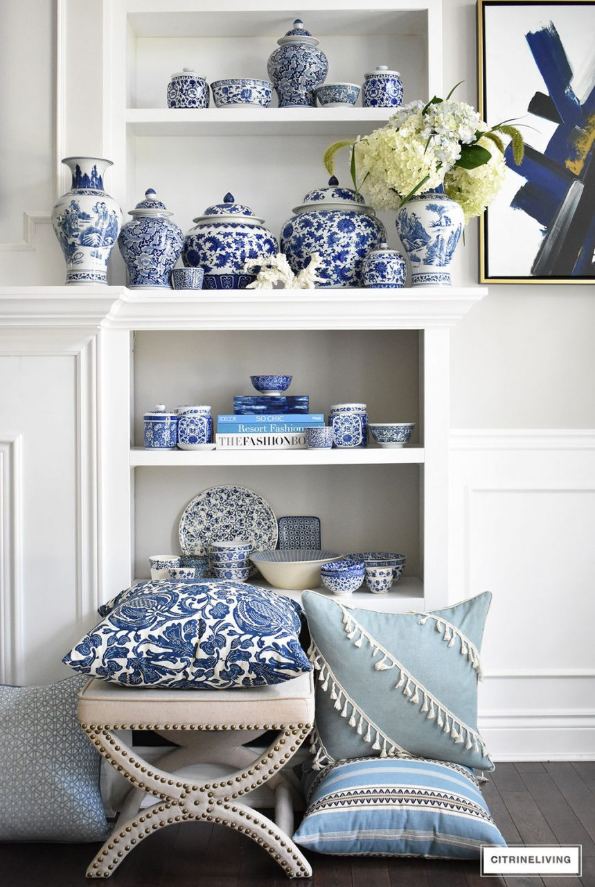 My Latest Blue And White Pieces And Sources To Find Some