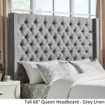 Tall Tufted Headboard