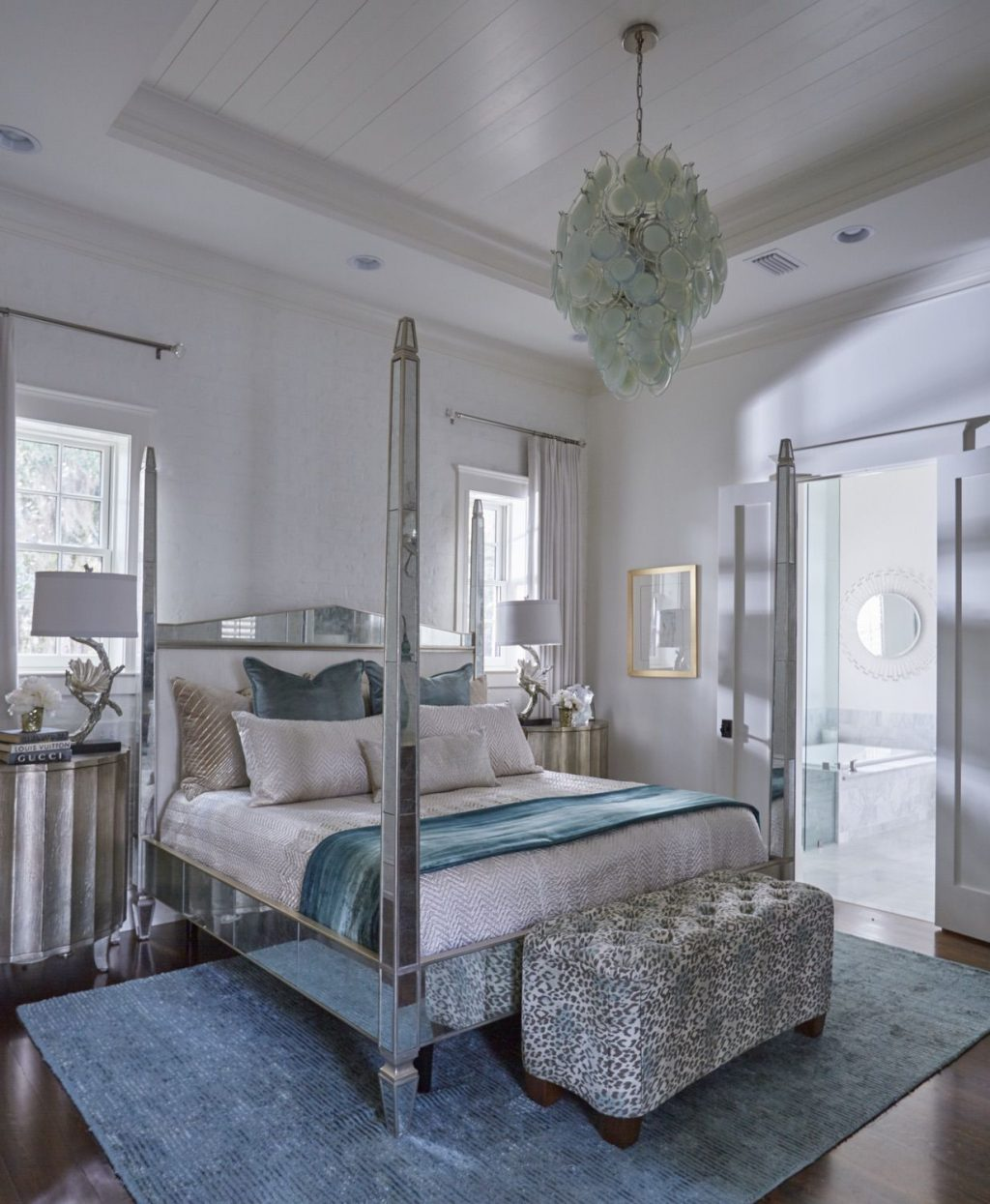 Old World Chic Designing Women Relaxing Master Master Bedroom