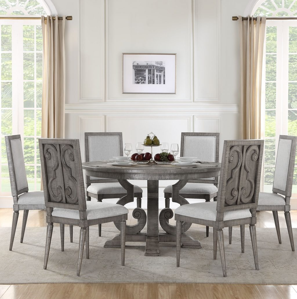 One Allium Way Candice 7 Piece Dining Set Wayfair