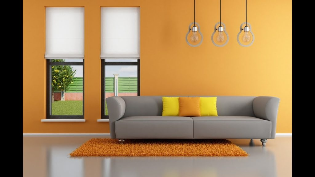 Orange Living Room Home Design Ideas Youtube