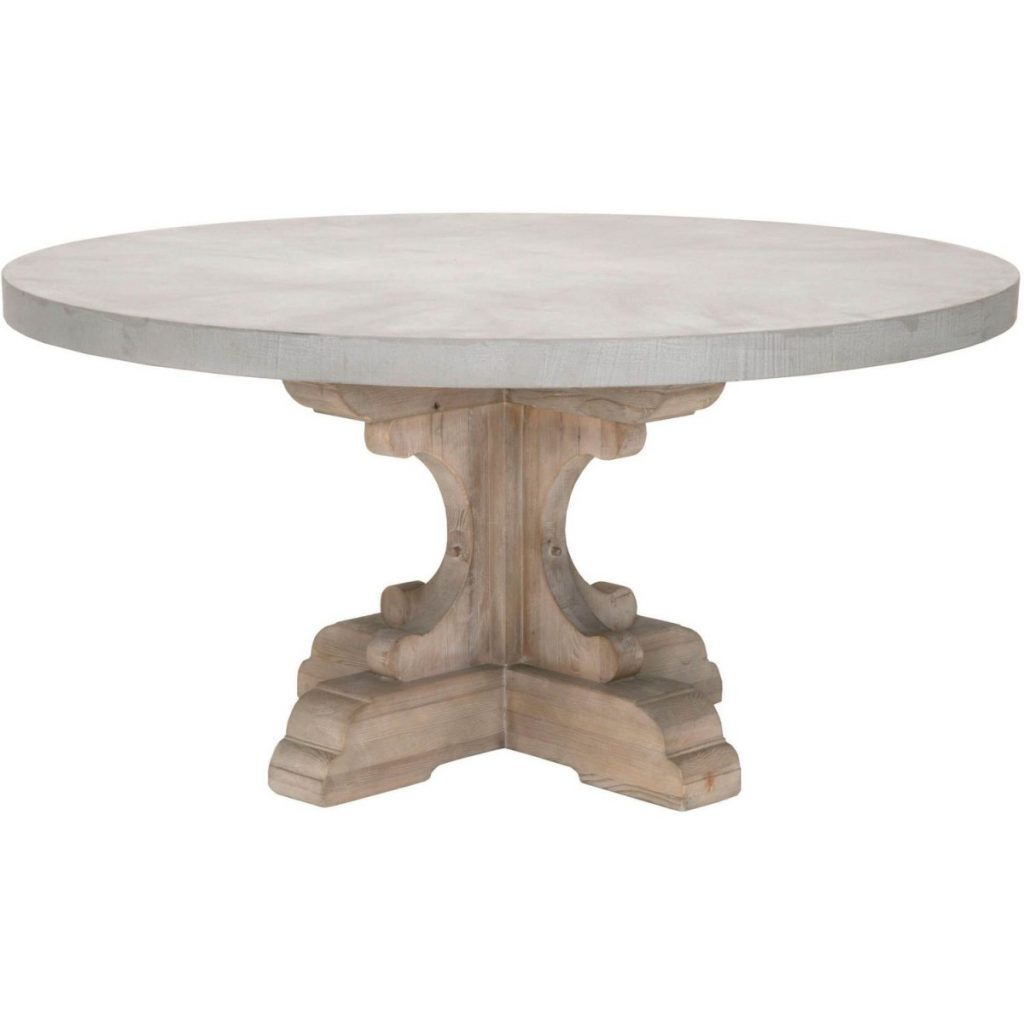 Orient Express Bella Antique Bastille 60 Round Dining Table With