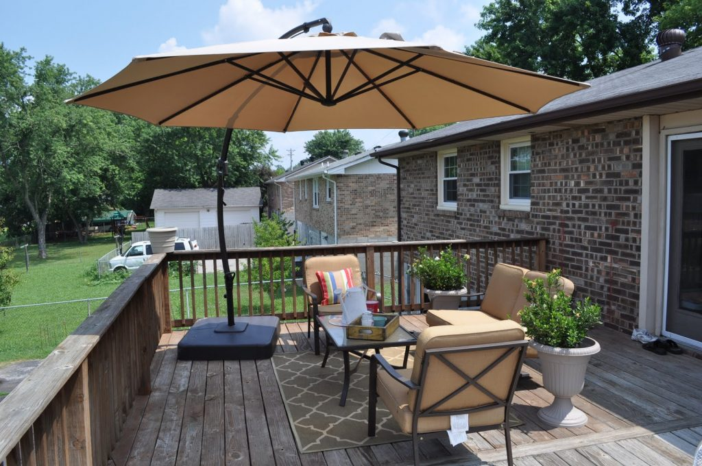 Outdoor Deck Decorating Pictures And Deck Decorating Ideas Concept