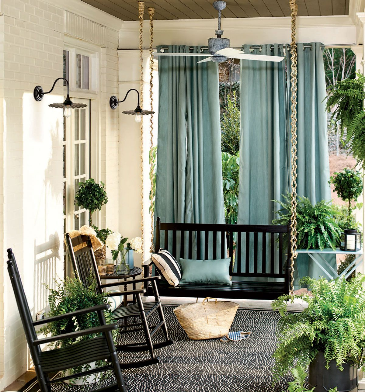 Outdoor Spaces Decorating Ideas In 2019 For The Home Porch