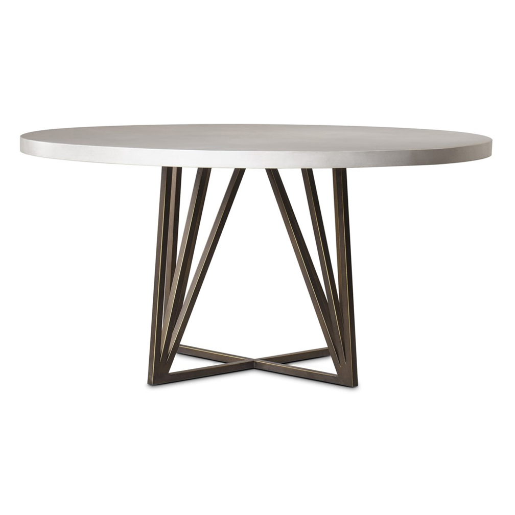 Paulus 60 Round Dining Table Luxe Home Company
