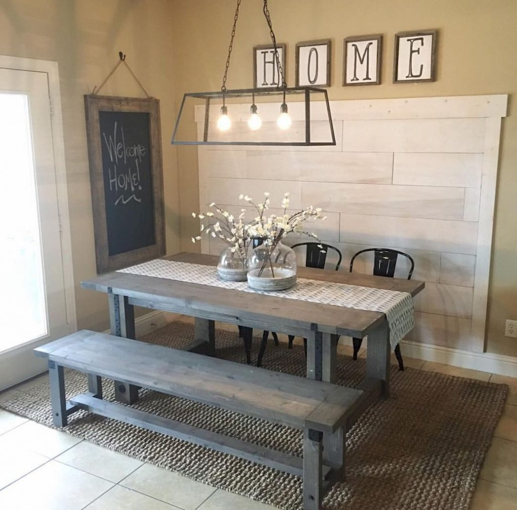 Pin Collette Wright On For The Home Diy Farmhouse Table
