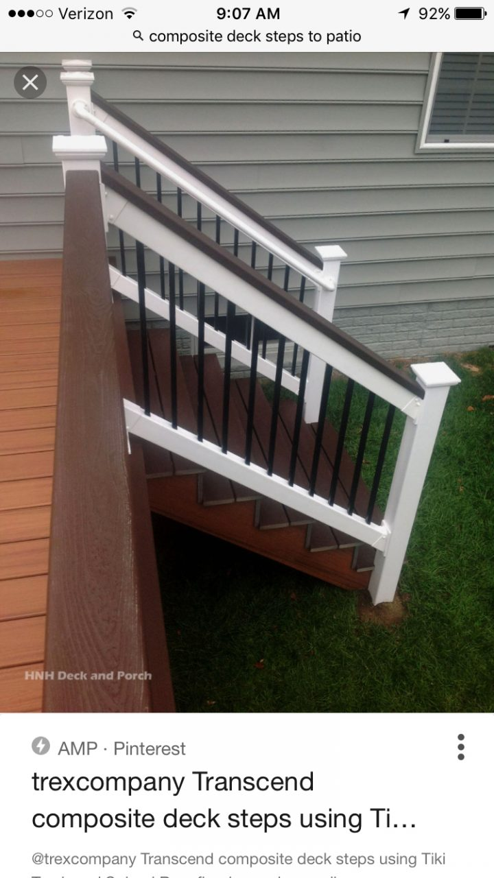 Pin Leeann Domnitz On Backyard Patio In 2019 Deck Steps Patio