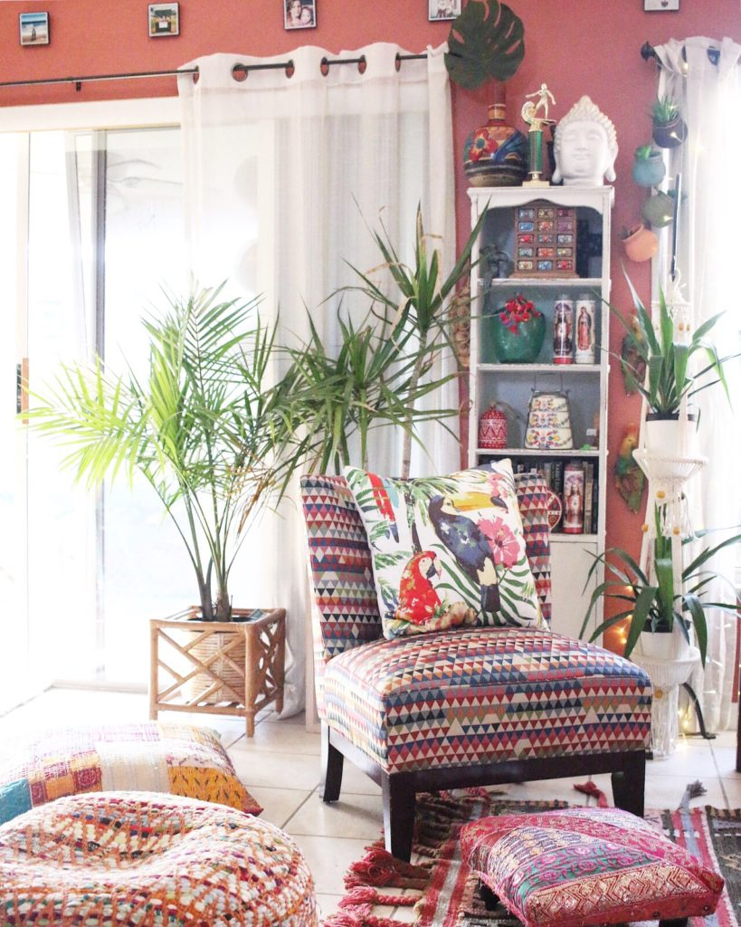 Plant Life Series A Colorful Plant Filled Bohemian Home In Florida