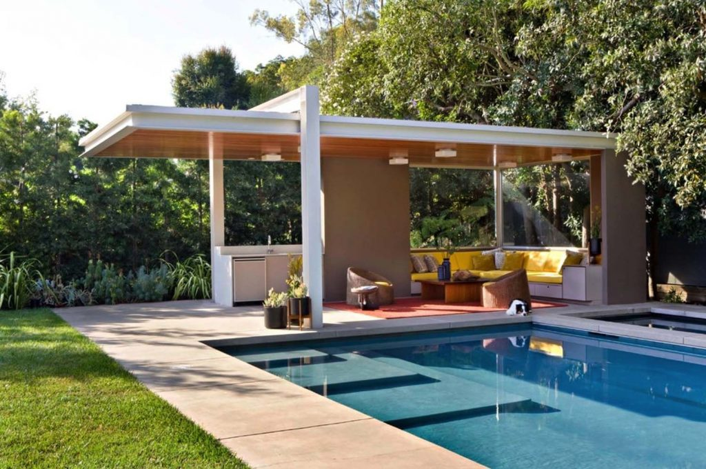 Playfully Designed Mid Century Ranch House In Brentwood Pool