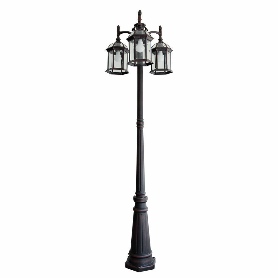 Portfolio Outdoor Lamp Post Pole Mount Light Lighting Fixture 3