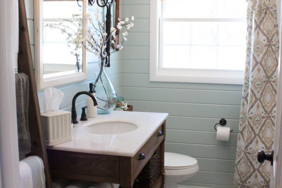 Pretty Teal Bathroom Upstairs Guest Bath Home Sweet Home